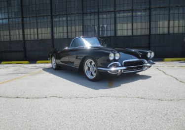 1962 Corvette Custom Interior Hot Rod Muscle Street Rod