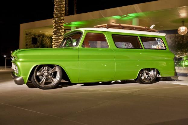 1966 Chevy Suburban Customs By Vos