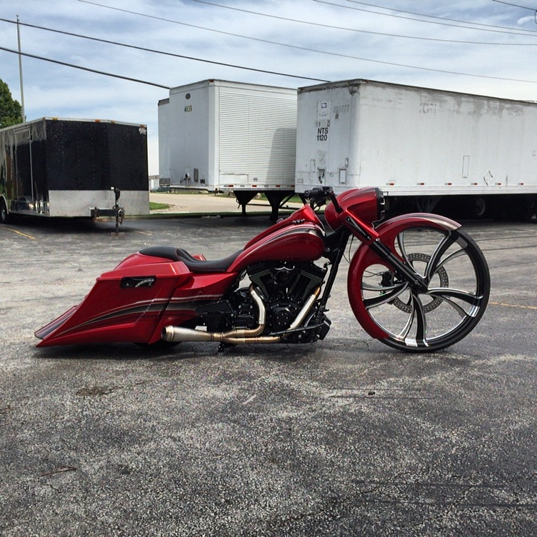 custom bagger, bagger, big wheel bagger, custom seat, custom seats, harley davidson, custom motorcycle, high end seats, luxury, expensive seats, custom upholstery, baddest bagger, bagger seat